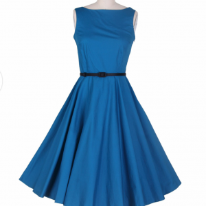 Audrey Hepburn Fashion vintage blue