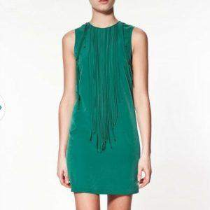 Sleeveless Tassel Vest Dress